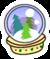 Snowglobepin