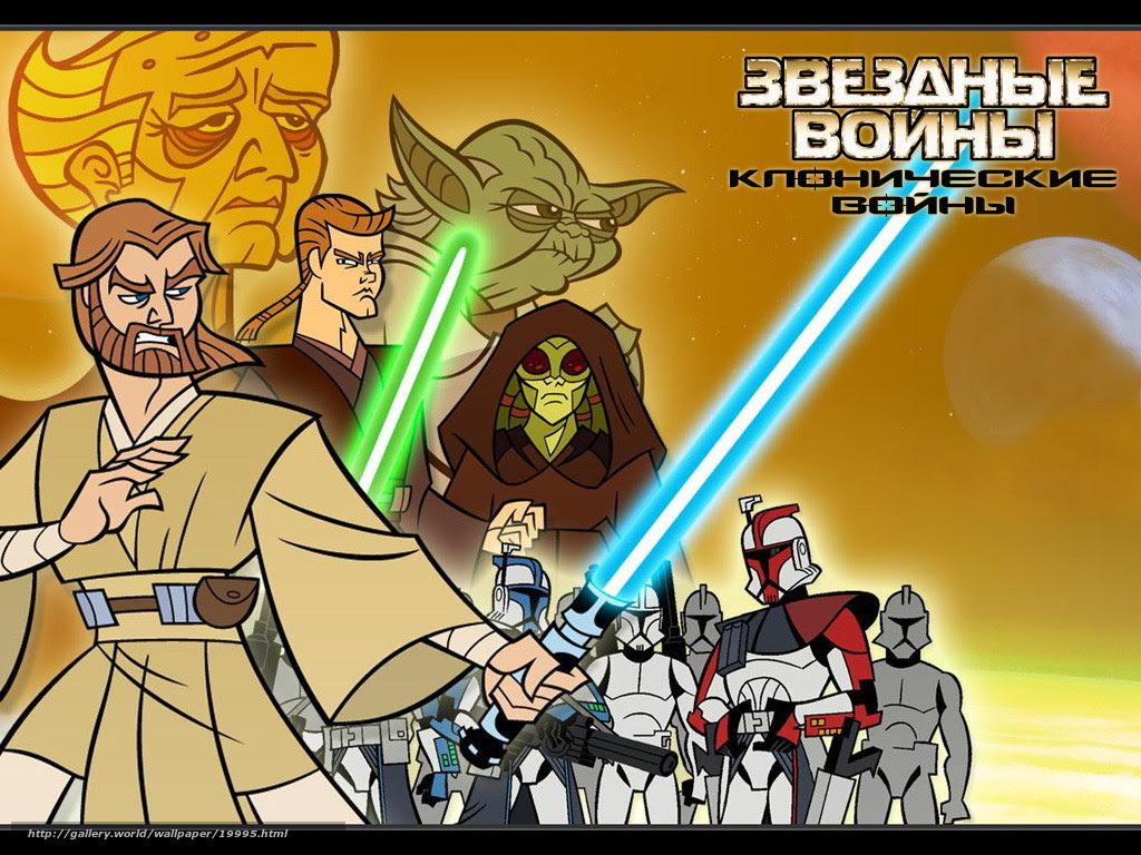 Download Wallpaper Klonicheskie Vojny Star Wars Clone Wars Film Movies Free Desktop Wallpaper In The Resolution 1024x768 Picture 19995