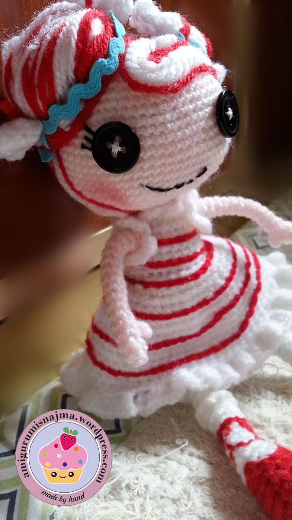 lalaloopsy mint e stripes crochet doll amigurumi-12