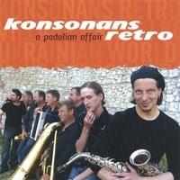 Album cover for Konsonans Retro's A Podolian Affair