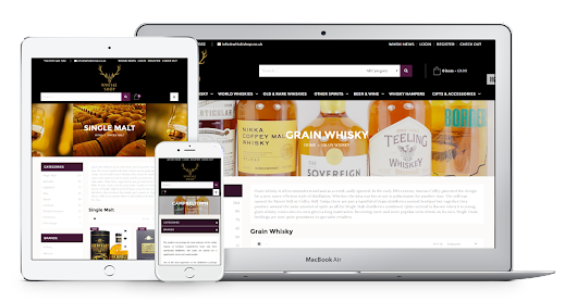 Whiski Shop | Shopify Ecommerce Project | Digital Six®