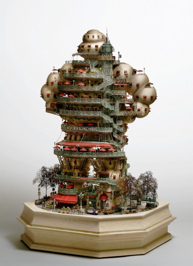 As intrincadas esculturas em miniatura de Takanori Aiba 02