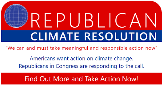 Thank the Sponsors of the Republican Climate Resolution
