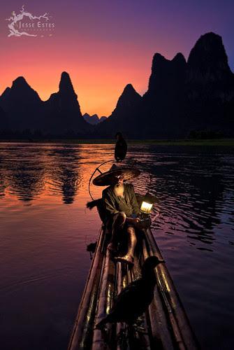 Guilin Fisherman por Jesse Estes
