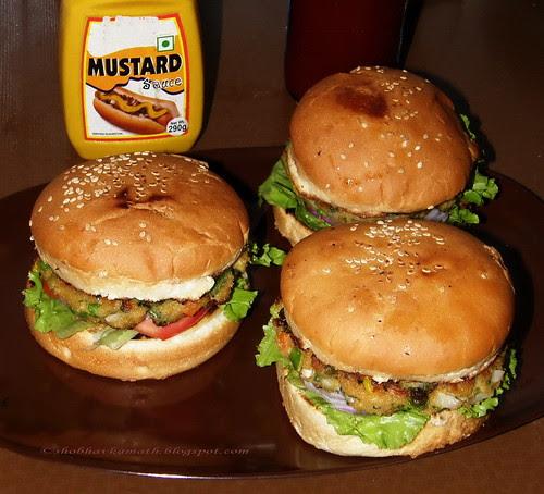 Healthy Veg Burgers
