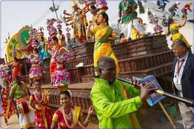 குடியரசு தினம் : தமிழக அரசின் அலங்கார ஊர்திக்கு 3வது பரிசு