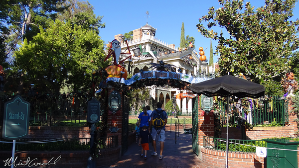 Disneyland Resort, Disneyland, New Orleans Square, Haunted Mansion Holiday, Halloween Time