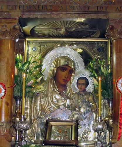 Ο τάφος της Παναγίας στην Γεσθημανή