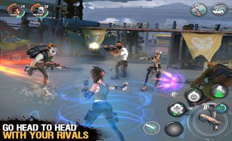 Dead Rivals – Zombie MMO v0.2.5 Apk + Data for android