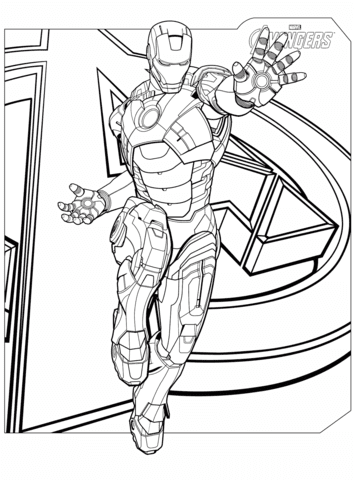 980 Top Printable Coloring Pages Iron Man Images & Pictures In HD