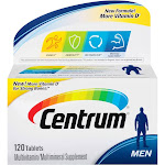 Centrum Multivitamin/Multimineral, Men, Tablets - 120 tablets