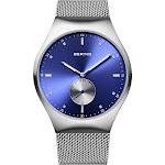 BERING Smart Traveler Watch With Scratch Resistant Sapphire Crystal 70142-007. Designed In Denmark - 70142-007