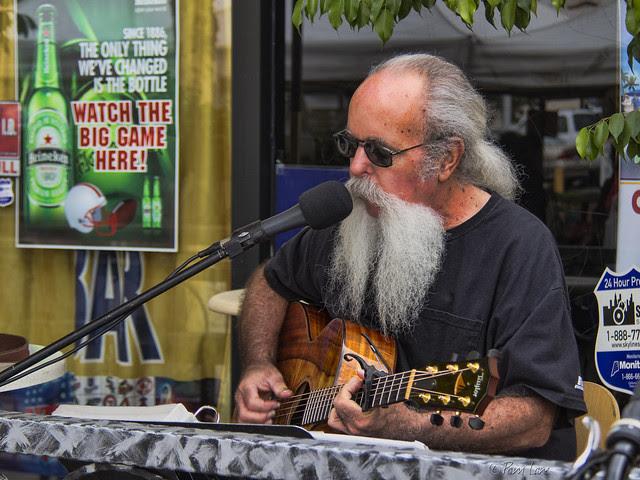 Farmer's market musician