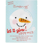 The Creme Shop Let It Glow Holiday Ultra Moisturizing Jojoba Oil Face Sheet Mask 1 Count Limited Edition