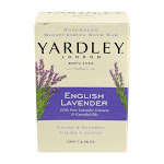 Yardley London Naturally Moisturizing Bar Soap, Flowering English Lavender - 4.25 Oz