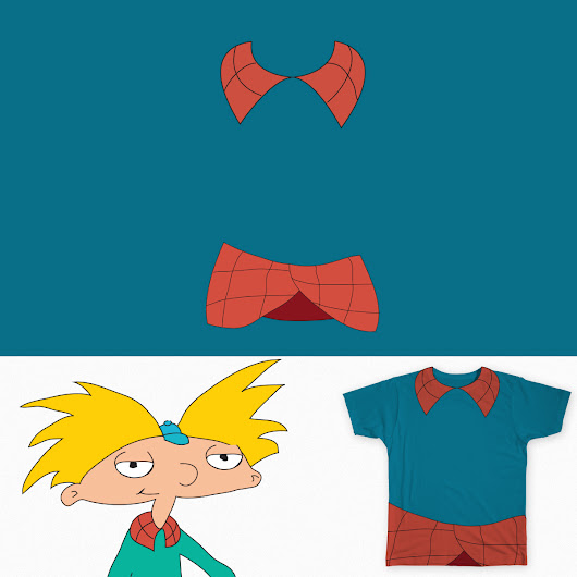 Arnold's shirt on Threadless