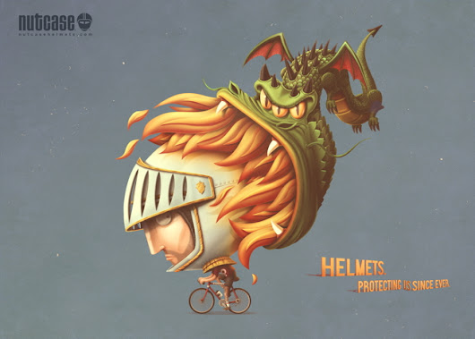 These Delightful Ads Revisit The History Of The Helmet