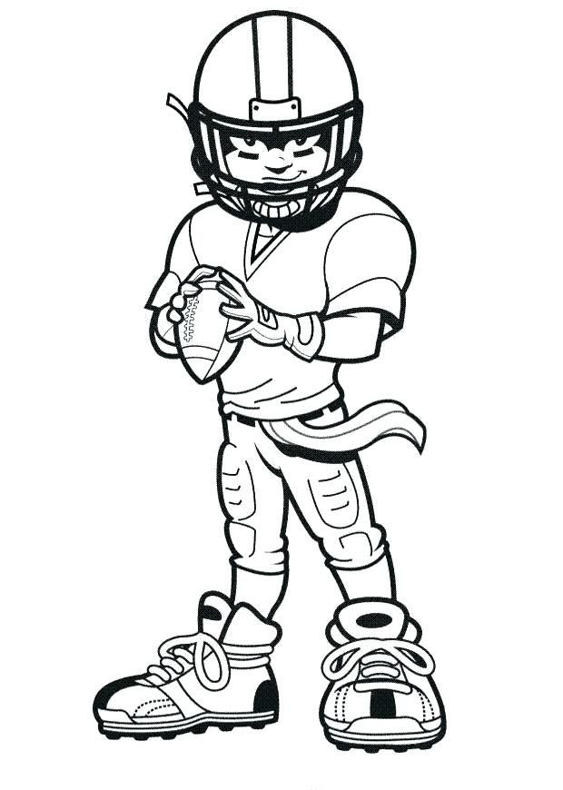 Nfl Football Player Drawing   Free download on ClipArtMag