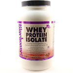 Bluebonnet Whey Protein Isolate Natural Strawberry Flavor - 2 Pounds