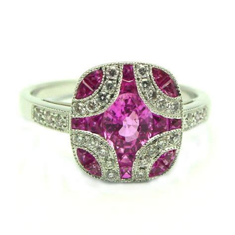 Pink Sapphire Engagement Rings Meaning   Wedding and