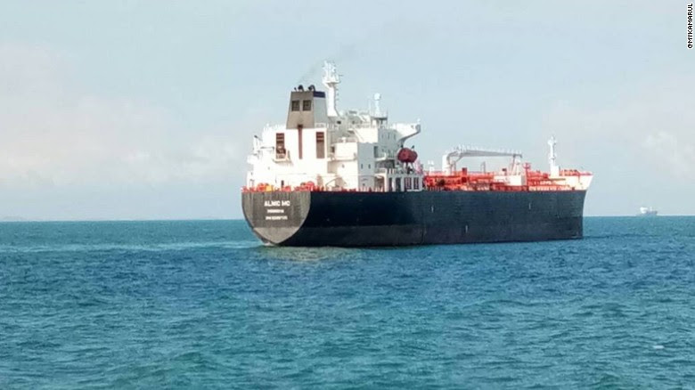 The tanker Alnic MC