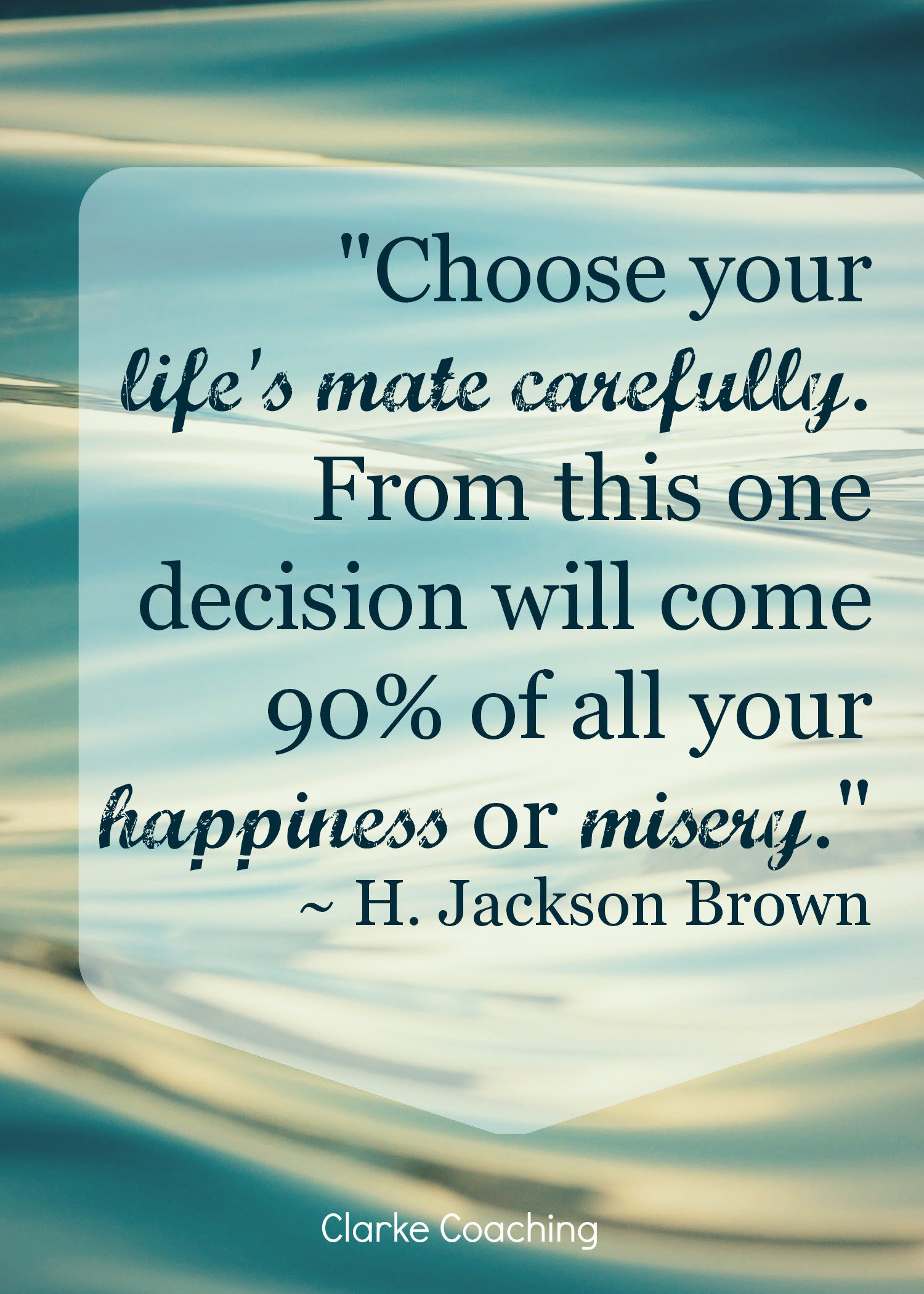 Quotes About Choosing A Partner 31 Quotes