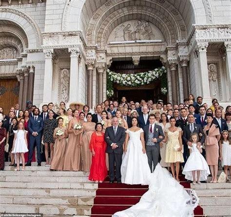 Princess Stéphanie of Monaco's son Louis Ducruet marries