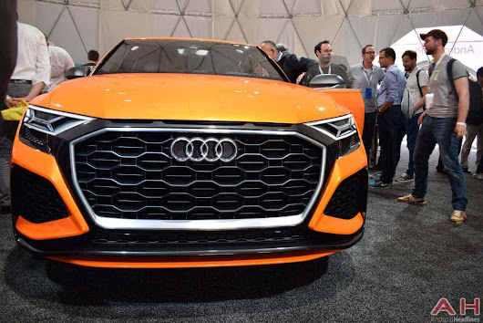 Hands On With The Audi Q8 Sport Concept With Android | Androidheadlines.com