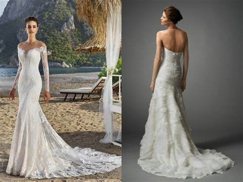 2018 mermaid wedding dresses with long train ? Premarry