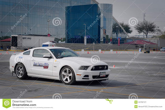 Ford Driving Skills Demo Editorial Photo - Image: 50792121