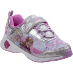Toddler Disney Frozen Girls Light Up Sneakers Shoes