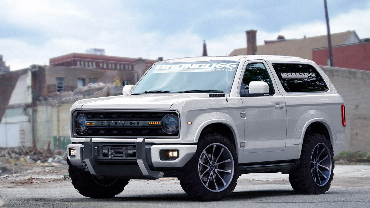 these latest renderings come from bronco6g com and give us a unique ...