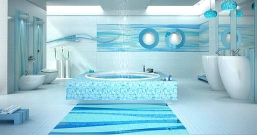Interior Decoration Of Exotic Bathrooms Ideas For