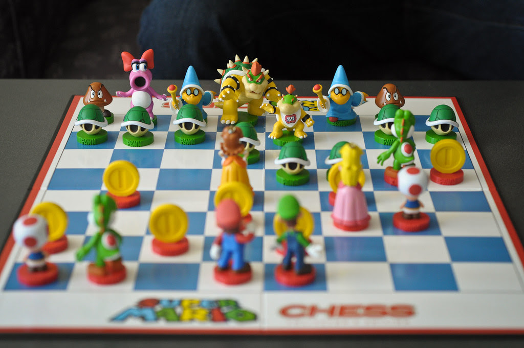 Super Mario Chess King Bowser Once More Plots Against
