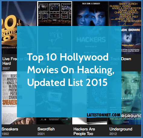 Top 10 Hollywood Hacking Movies - List Updated 2015