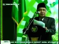 KH. Said Aqil Siradj; Pesan Mbah Hasyim Jangan Pertentangkan Islam dengan Nasionalis