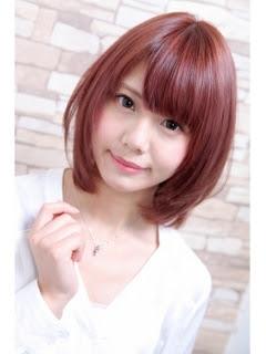 ヘアカラーカタログピンクブラウン - ヘアスタイル・髪型・ヘアカタログ(レッド・ピンク系)|人気順|4