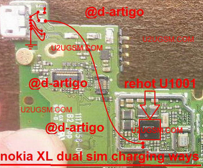 Nokia XL Charging Solution Jumper Problem Ways Charging Not Supported