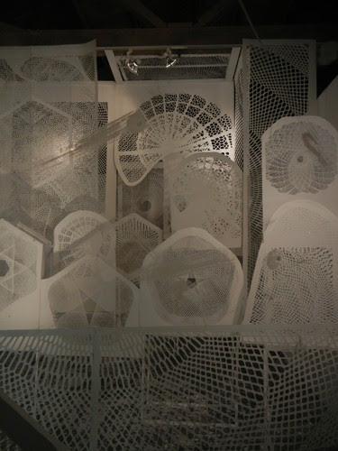 Sea of Love (Cut Paper) by Tahiti Pehrson, SFAC Gallery - June 2012 _ 8052