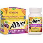 Alive! Women's Energy Nature's Way 50 Tabs - Unlimited Cellular