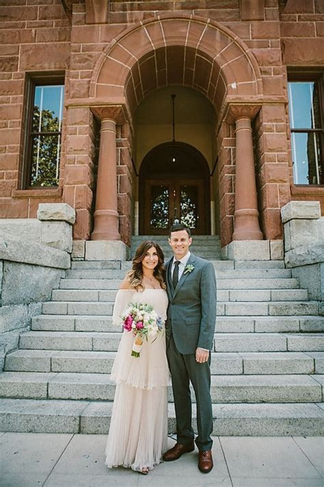 Intimate Courthouse Elopement   Wedding Day   Courthouse