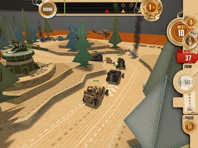 Tabletop Defense Free PC Game Screenshot