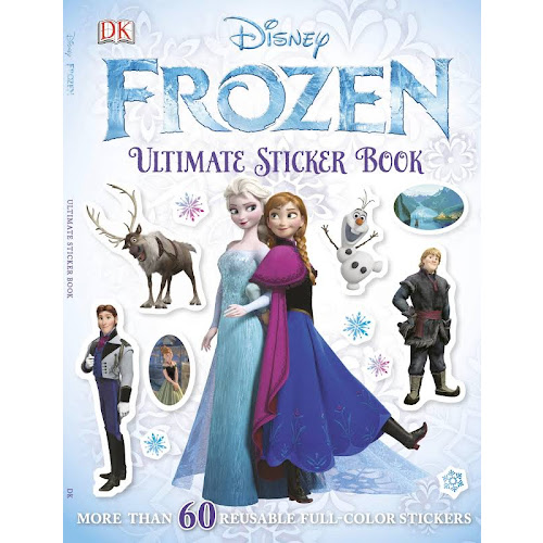 Ultimate Sticker Book: Frozen - Book