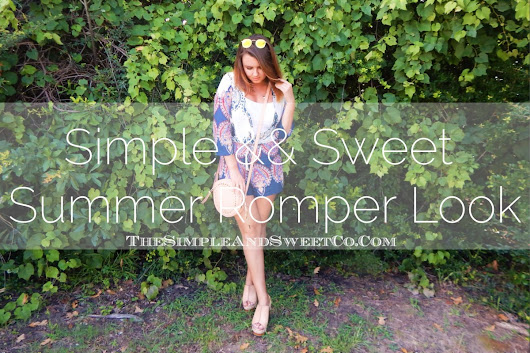 Fun Summer Romper Look