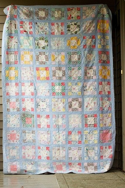 vintage quilt by kaitlin