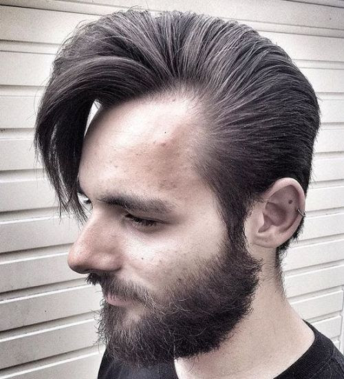 Mens Haircut Styles For Receding Hairline