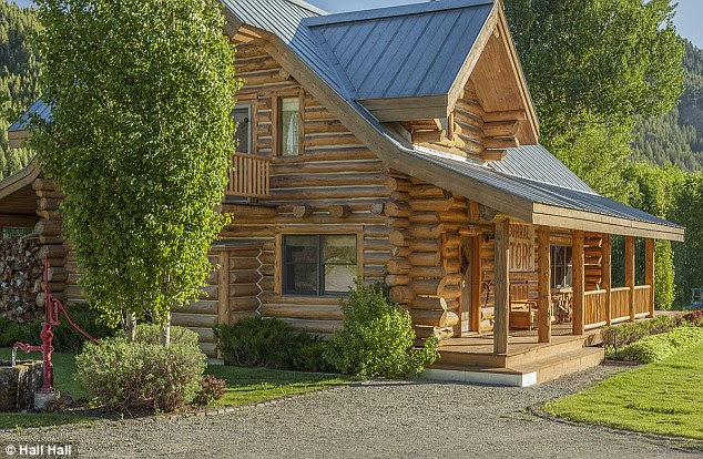 Updates: The current owners have added a new log cabin and remodeled the one built by McQueen's widow