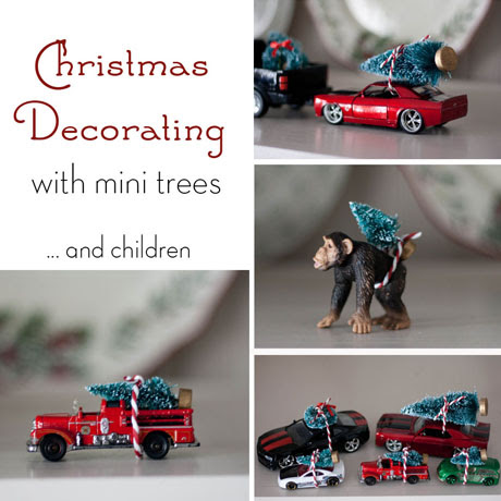 mini christmas tree easy decor for kids