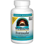 Source Naturals Wellness Formula Capsules - 120 caps