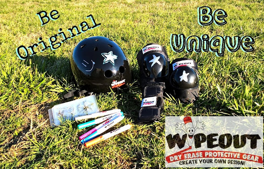 Fully Customizable Dry-Erase Protective Gear from Wipeout